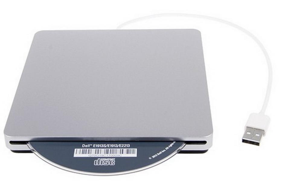Щелевой карман для DVD привода ноутбука Apple