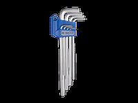 Набор шестигранных ключей  Г-обр. 2-10мм экстрадлинных KING TONY, 8шт.