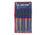 Набор напильников 200мм KING TONY, 5 ед.