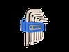 Набор ключей Г-образных TORX T10-T40 KING TONY, 7 предметов