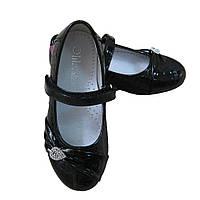 Туфли черные Lilin для девочки (р.28-31)