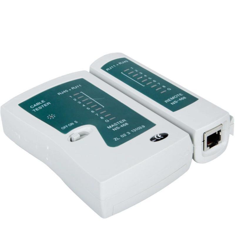 Тестер Ethernet RJ45+RJ11
