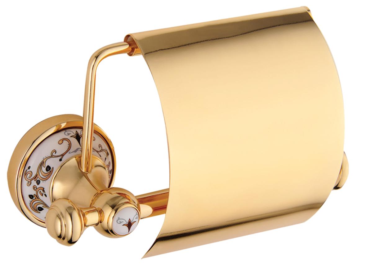 Держатель туалетной бумаги KUGU Medusa 711G Gold