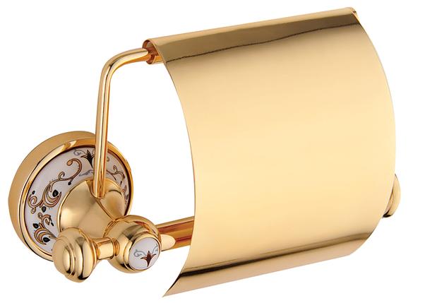 Тримач туалетного паперу KUGU Medusa 711G Gold, фото 2