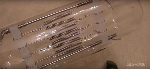 Что будет если включить лампочку на 20 000 ватт ? (видео)