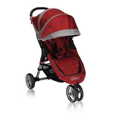 Прогулочная коляска Baby Jogger City Mini CRIMSON/GRAY