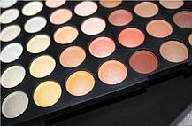 Профессиональная палитра теней МАС 120 цветов №4 теплые оттенки , фото 3