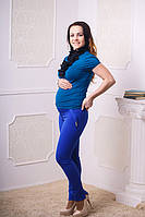 Брюки для беременных яркий принт
