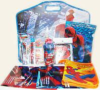 Подарочный набор канцтоваров для мальчика в портфеле Spider-Man 10 предметов