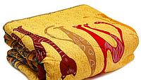 Одеяло полуторное меховое, с плотность 200 г/м.кв, ткань бязь.(арт.355)