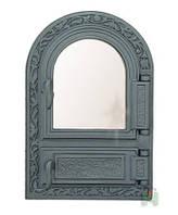Дверцы для печи со стеклом (оздобные)
