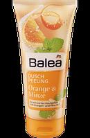 Balea Körperpeeling Orange & Minze, 200 ml - Гель-пилинг для душа апельсин-мята, 200 мл