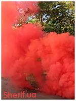 Цветной дым факел Красный 60сек DUPLEX