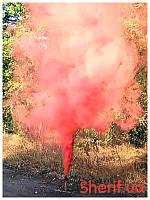 Дым цветной  факел Красный 60сек