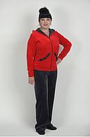 Спортивный костюм  с цветной кофтой 50-62 р-ры
