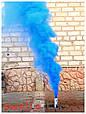 Дымный факел MIX (Green, Yellow, Red, Blue, Orange) 35сек, фото 3