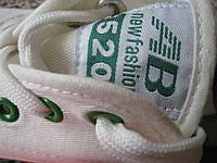 """AB New Fashion серия """"520"""" стильные кеды кроссовки женские мужские унисекс, фото 1"""