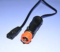 Шнур питания DC для автохолодильника 2.0м 1.25кв.мм.  KPO3980-2