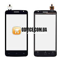 Тачскрин (сенсор) Prestigio MultiPhone PAP 3501, цвет черный, на 2 sim карты