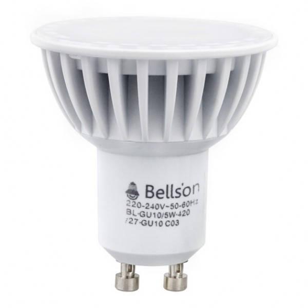 Светодиодная лампа GU10 5W 2700K Bellson