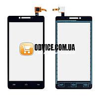 Тачскрин (сенсор) Prestigio MultiPhone PAP 5500, цвет черный, на 2 sim карты