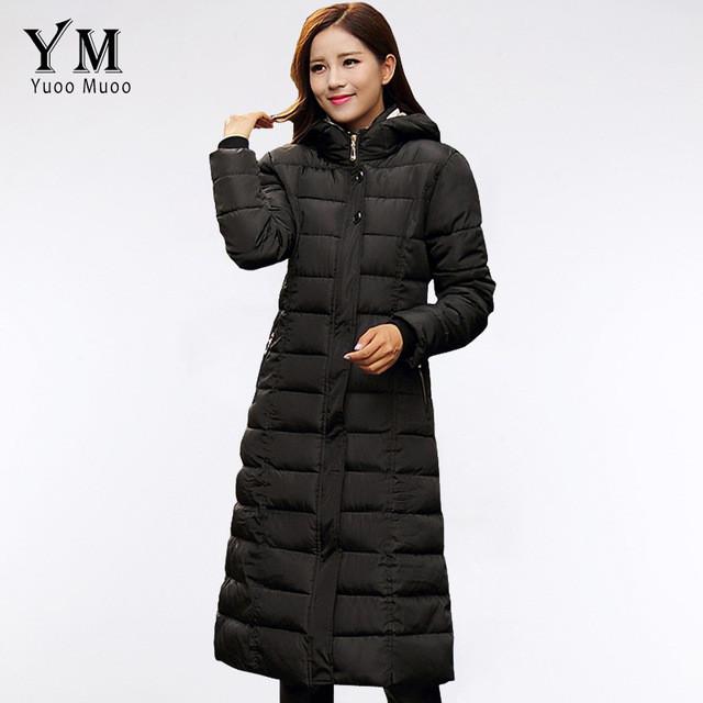 Женский зимний пуховик, женское зимнее пальто. Модель 756