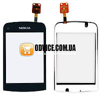 Тачскрин (сенсор) Nokia C2-06 C2-02 C2-03 С2-07, цвет черный