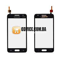 Тачскрин (сенсор) Samsung G355H Galaxy Core 2, цвет черный, на 2 sim карты