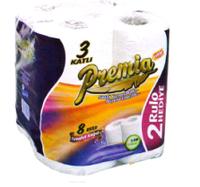 Premia туалетная бумага (8шт)