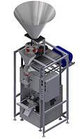 Фасовочно-упаковочный автомат с объемным дозатором