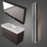 Комплект мебели BARBADOS 120 Данный комплект с подвесным шкафчиком длиной 120 см, является одним из самых больших стандартных цвета