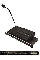 Блок коммутации КС-08 + Выносная микрофонная консоль MS-08