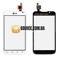 Тачскрин (сенсор) LG P715 Optimus L7 2, цвет белый, на 2 sim карты, копия высокого качества
