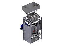 Фасовочно-упаковочный автомат с весовым дозатором 3-х руч.
