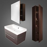 Комплект мебели CORSICA цвета исполнения-Венге;Белый.