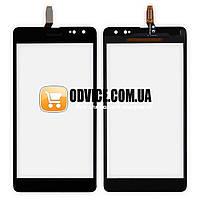 Сенсорный экран для Nokia 535  сревизией (CT2C1607FPC-A1-E) черный