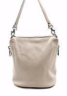 Женская сумка Laura Biaggi (2301 beige) leather