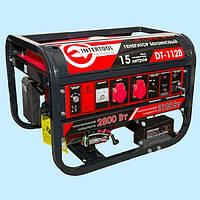 Генератор бензиновый INTERTOOL DT-1128 (3.1 кВт)