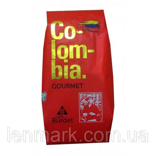 Кофе в зернах  Burdet Colombia gourmet, 1 кг