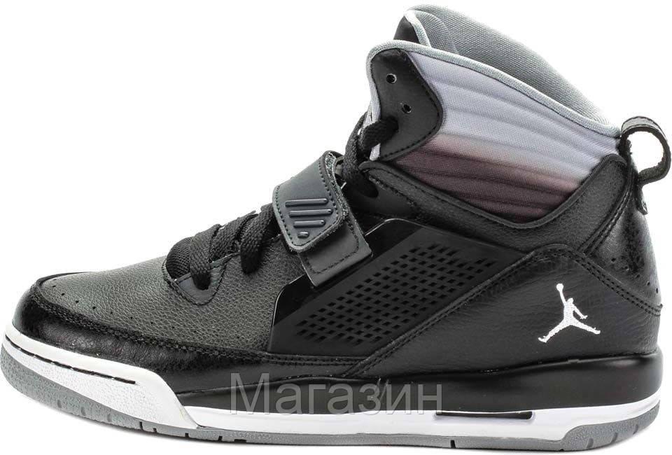 Баскетбольные кроссовки Air Jordan Flight 97 (Найк Аир Джордан) в стиле  черные 42dbc4683bf