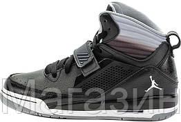 9884128fb630 Баскетбольные кроссовки Air Jordan Flight 97 (Найк Аир Джордан) в стиле  черные