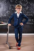 Школьный костюм для девочки пиджак и брюки