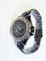 Женские черные часы Chanel , фото 1