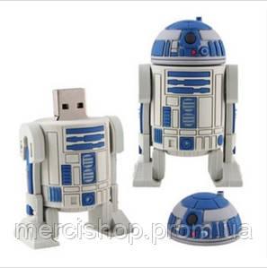 """Флешка-игрушка """"Звездные войны, R2D2 робот"""" 16 Гб"""