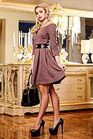 Платье женское 1175 коричневый