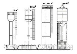 Водонапорная башня ВБР-15-8