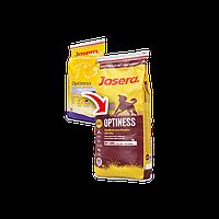 Josera optiness сухой сбалансированный корм для собак без кукурузы ( картофель и баранина ) - 15 кг