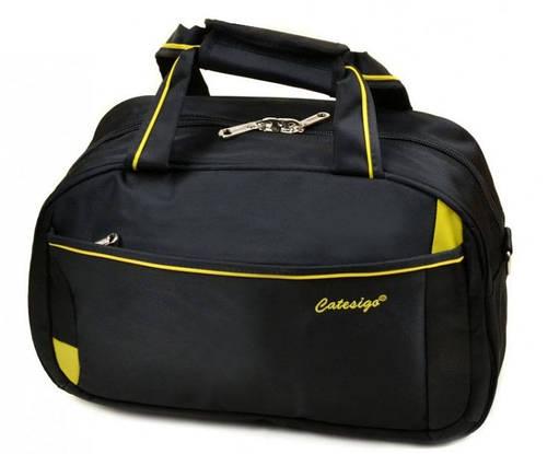 Дорожная сумка-саквояж из нейлона 20 л. 17501 18 Small black (черный)