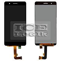 Дисплей для мобильного телефона Huawei Honor 6 Plus, черный, с сенсорным экраном