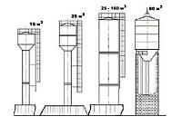 Водонапорная башня рожновского ВБР 25
